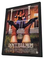 Don't Tell Mom the Babysitter's Dead - 11 x 17 Movie Poster - Style C - in Deluxe Wood Frame
