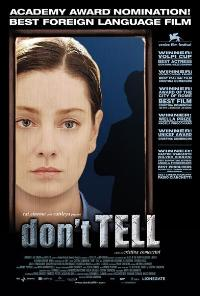Don't Tell - 43 x 62 Movie Poster - Bus Shelter Style A