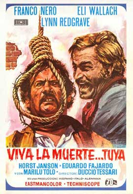 Don't Turn the Other Cheek - 11 x 17 Movie Poster - Spanish Style A