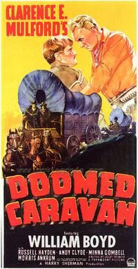 Doomed Caravan - 43 x 62 Movie Poster - Bus Shelter Style A