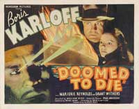 Doomed to Die - 22 x 28 Movie Poster - Half Sheet Style A