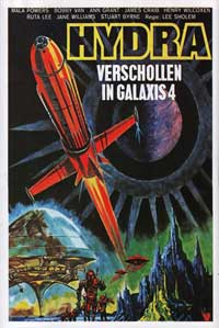 Doomsday Machine - 11 x 17 Movie Poster - German Style A