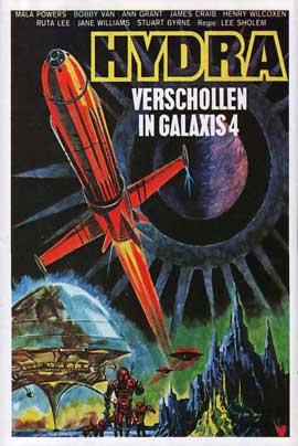 Doomsday Machine - 27 x 40 Movie Poster - German Style A