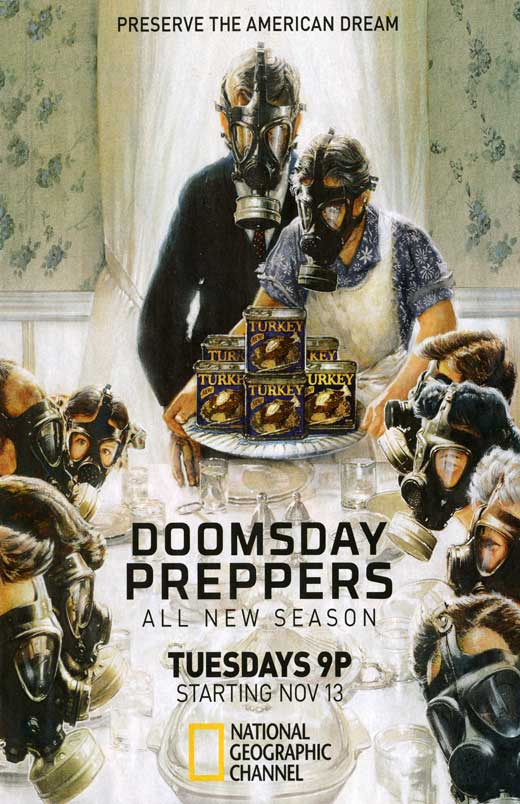 doomsday-preppers-tv-movie-poster-2011-1020753460 - Never mind the Mayans: US 'preppers' ready for anything - Lifestyle, Culture and Arts