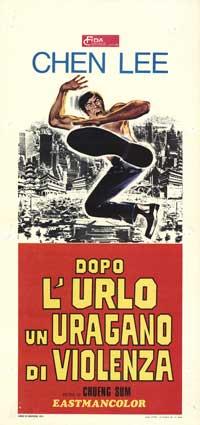 Dopo L'urlo  un Uragana di Violenza - 13 x 28 Movie Poster - Italian Style A