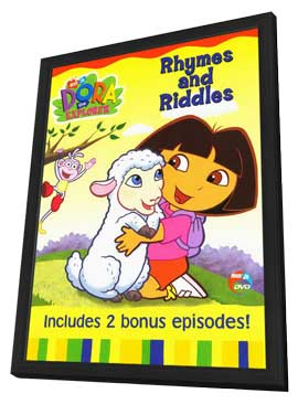 Dora the explorer - 11 x 17 Movie Poster - Style A - in Deluxe Wood Frame