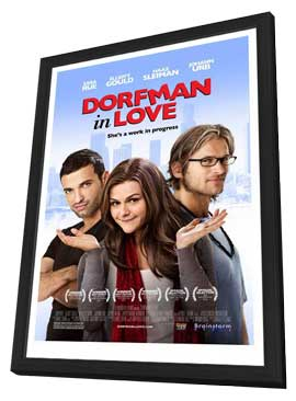 Dorfman in Love - 11 x 17 Movie Poster - Style A - in Deluxe Wood Frame
