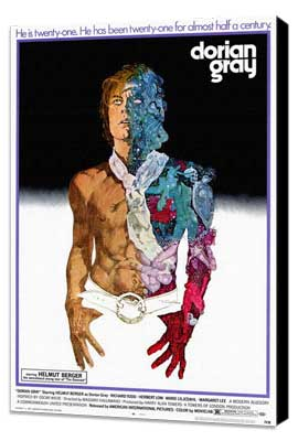 Dorian Gray - 27 x 40 Movie Poster - Style A - Museum Wrapped Canvas