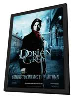 Dorian Gray - 11 x 17 Movie Poster - UK Style C - in Deluxe Wood Frame