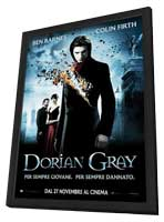 Dorian Gray - 27 x 40 Movie Poster - Italian Style A - in Deluxe Wood Frame