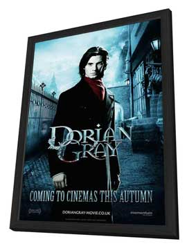 Dorian Gray - 11 x 17 Movie Poster - Style B - in Deluxe Wood Frame