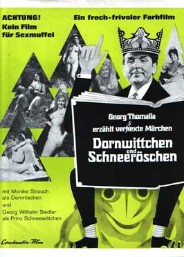 Dornwittchen und Schneeroschen - 11 x 17 Movie Poster - German Style A