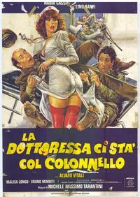 Dottoressa ci sta col colonello, La - 11 x 17 Movie Poster - Spanish Style A