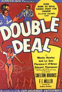Double Deal - 27 x 40 Movie Poster - Style A