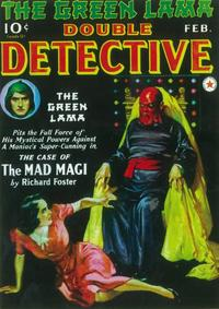 Double Detective (Pulp) - 11 x 17 Pulp Poster - Style A