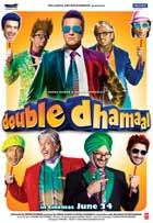 Double Dhamaal - 11 x 17 Movie Poster - Style E