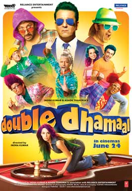 Double Dhamaal - 11 x 17 Movie Poster - Style C