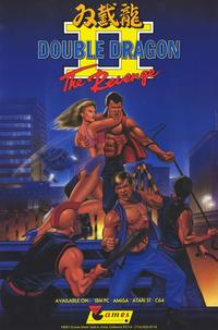 Double Dragon II: The Revenge - 11 x 17 Video Game Poster - Style A