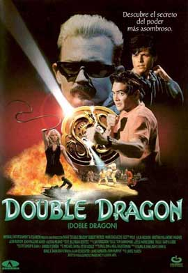 Double Dragon - 11 x 17 Movie Poster - Spanish Style A