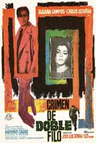 Double Edged Crime - 11 x 17 Movie Poster - Spanish Style A