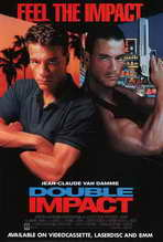 Double Impact - 27 x 40 Movie Poster - Style B