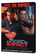 Double Impact - 27 x 40 Movie Poster - Style B - Museum Wrapped Canvas