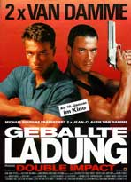 Double Impact - 27 x 40 Movie Poster - German Style A