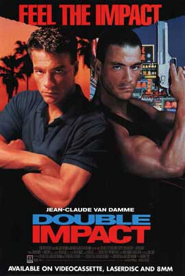 Double Impact - 11 x 17 Movie Poster - Style B