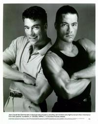 Double Impact - 8 x 10 B&W Photo #2