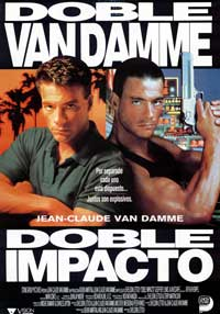 Double Impact - 43 x 62 Movie Poster - Spanish Style A
