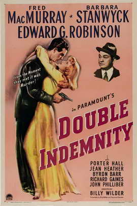 Double Indemnity - 11 x 17 Movie Poster - Style A