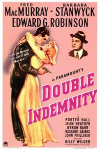 Double Indemnity - 43 x 62 Movie Poster - Bus Shelter Style A