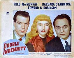 Double Indemnity - 11 x 14 Poster UK Style D