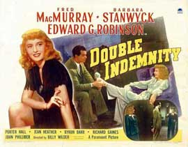 Double Indemnity - 11 x 14 Movie Poster - Style E