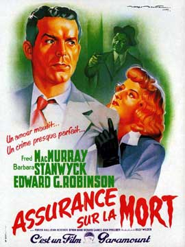 Double Indemnity - 11 x 17 Movie Poster - French Style C
