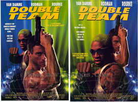 Double Team - 27 x 40 Movie Poster - Style B