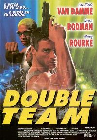Double Team - 11 x 17 Movie Poster - Spanish Style A