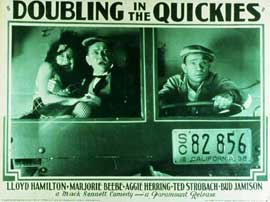 Doubling in the Quickies - 11 x 14 Movie Poster - Style A