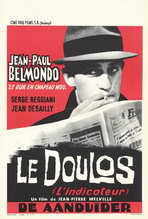 Doulos: The Finger Man - 27 x 40 Movie Poster - Belgian Style A