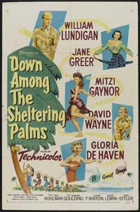 Down Among the Sheltering Palms - 11 x 17 Movie Poster - Style A