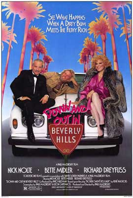 Down and Out in Beverly Hills - 27 x 40 Movie Poster - Style A