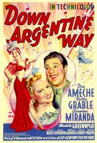 Down Argentine Way - 11 x 17 Movie Poster - Style A