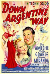 Down Argentine Way - 27 x 40 Movie Poster - Style A
