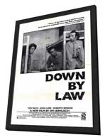 Down by Law - 11 x 17 Movie Poster - Style B - in Deluxe Wood Frame
