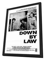 Down by Law - 27 x 40 Movie Poster - Style A - in Deluxe Wood Frame