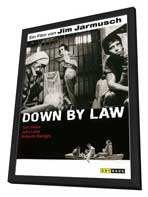 Down by Law - 27 x 40 Movie Poster - German Style A - in Deluxe Wood Frame