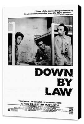 Down by Law - 27 x 40 Movie Poster - Style A - Museum Wrapped Canvas