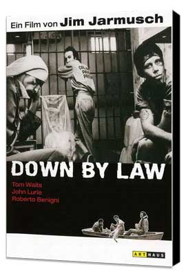 Down by Law - 27 x 40 Movie Poster - German Style A - Museum Wrapped Canvas