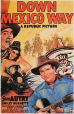 Down Mexico Way - 27 x 40 Movie Poster - Style A