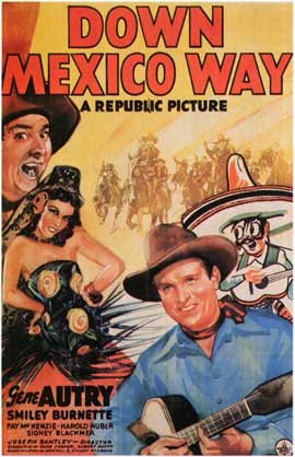 Down Mexico Way - 11 x 17 Movie Poster - Style A